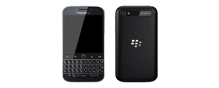 Tastatur-Smartphone BlackBerry Classic