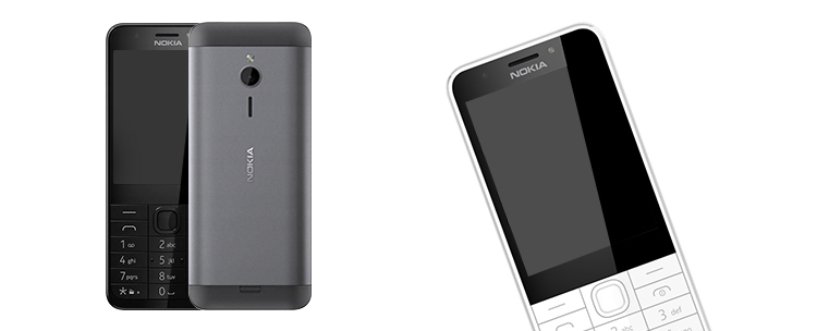 Tastatur-Smartphone Nokia 230 Dual Sim