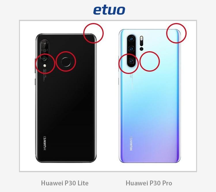Huawei P30 Lite und Huawei P30 Pro - Unterschiede