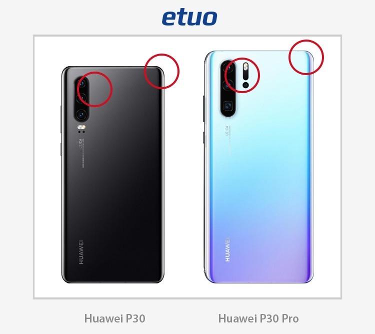 Huawei P30 und Huawei P30 Lite - Unterschiede