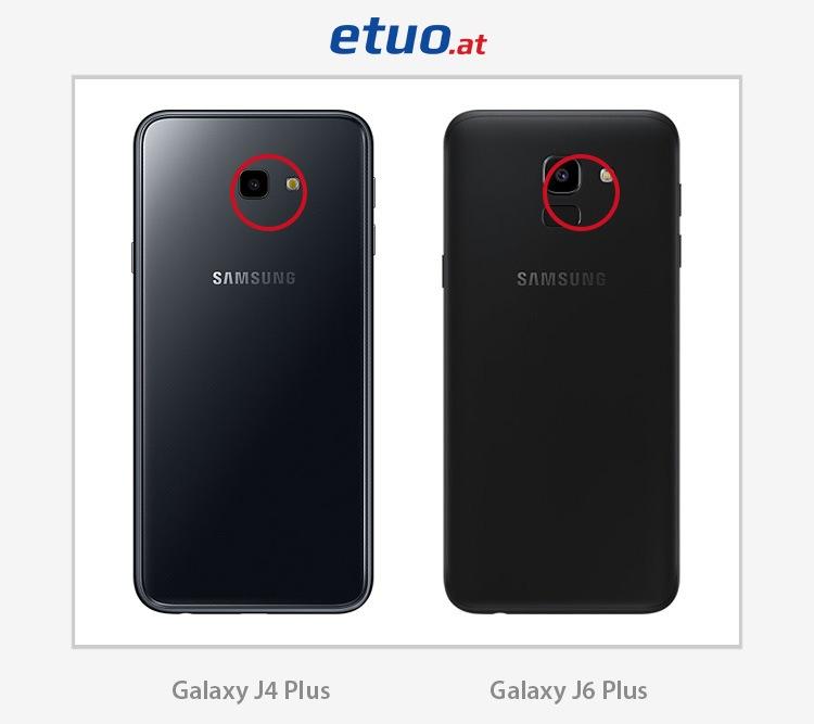 Unterschiede zwischen Samsung Galaxy J4 Plus und Samsung Galaxy J6 Plus