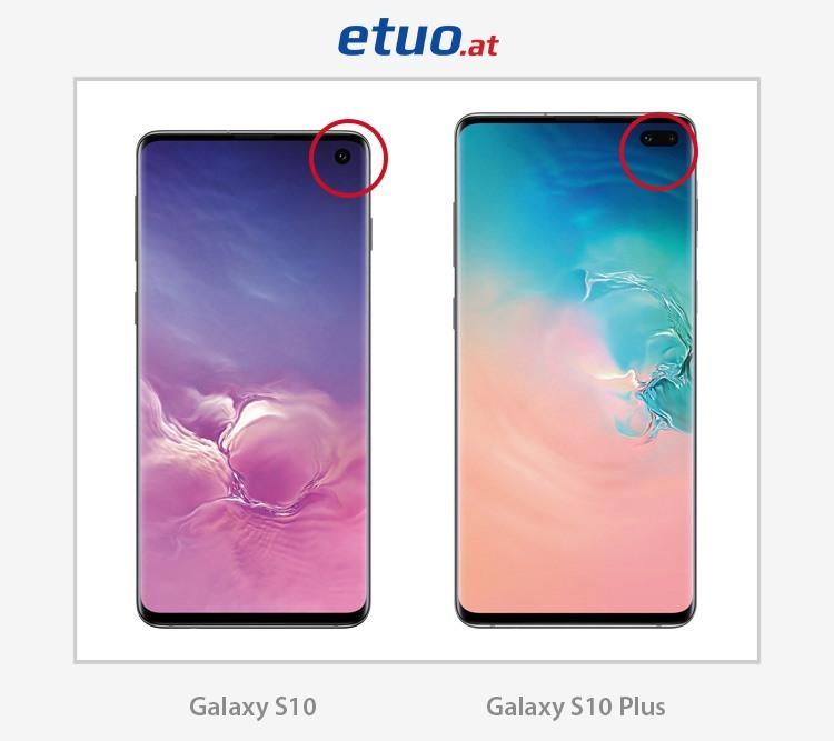 Samsung Galaxy S10 und Samsung Galaxy S10 Plus – Unterschiede