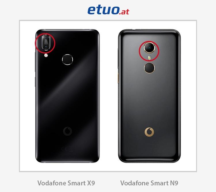 Vodafone Smart N9 und Vodafone Smart X9 – Vergleich