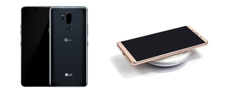 LG G7 Thinq mit Induktionsladung?