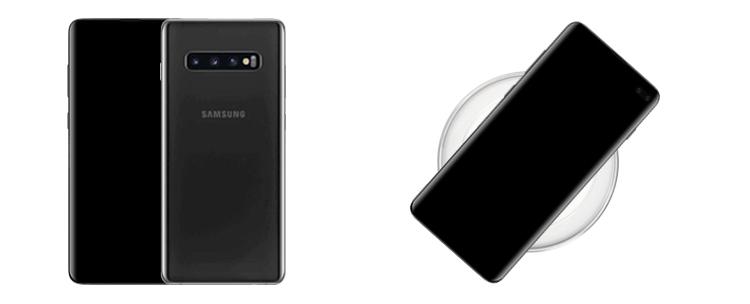 Samsung Galaxy S10 mit Induktionsladung