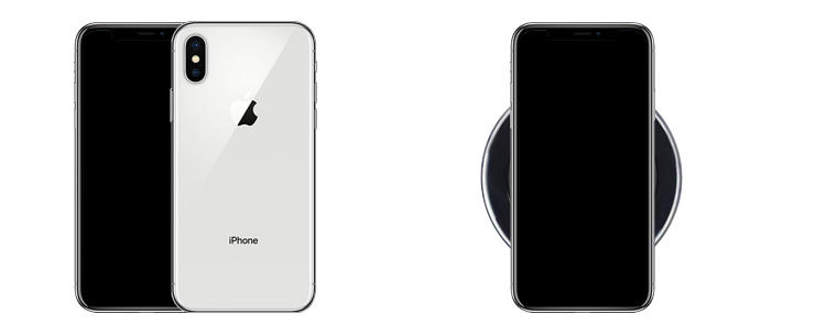 Apple iPhone XS mit Induktionsladung