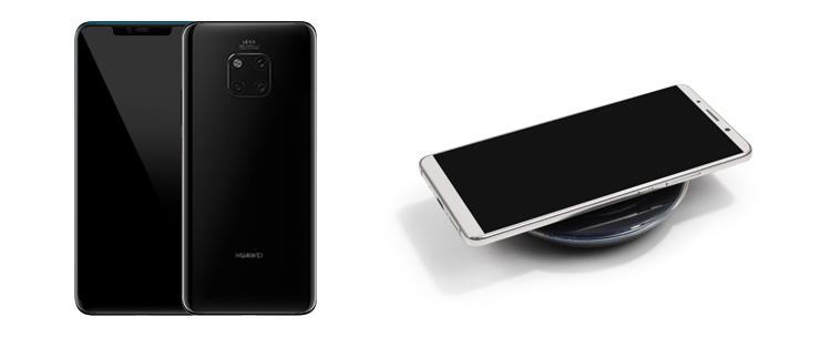 Huawei Mate 20 mit Induktionsladung