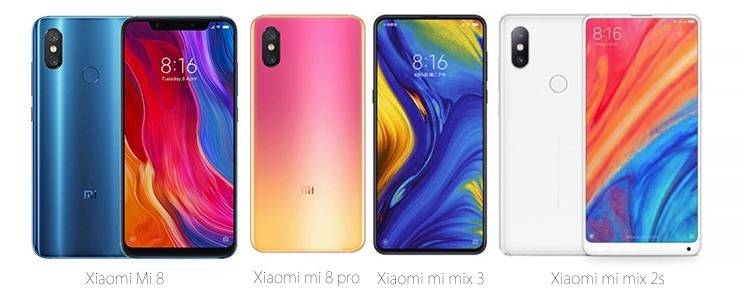 Xiaomi-Handys mit NFC